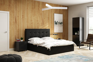 Simon Black Bed And Mattress