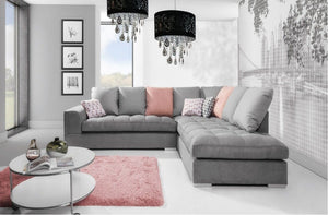 Famolo Corner Sofa Right or Left Corner Like Picture