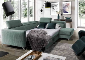 Maro Corner Sofa Bed