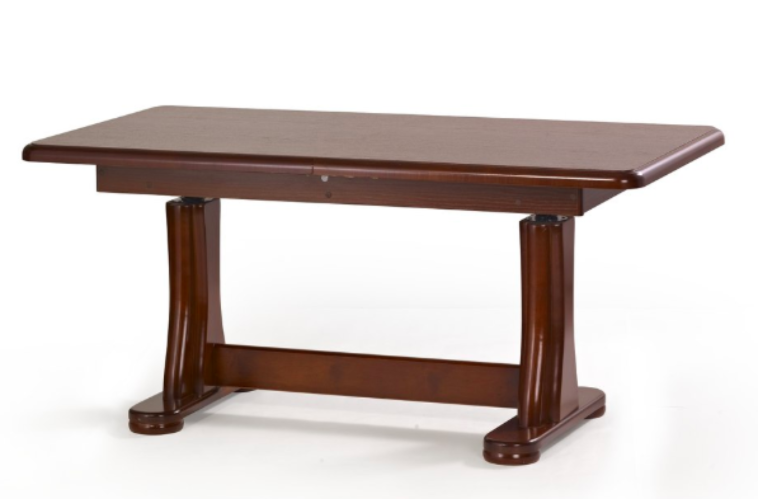 TYMON 2 lift coffee table colour: dark walnut