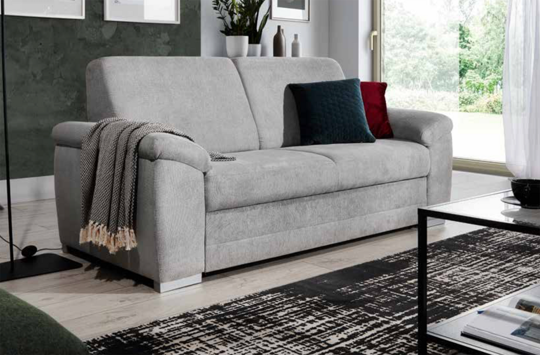 Barrello Sofa 2 Seater and Footstool Savana 16 Brown