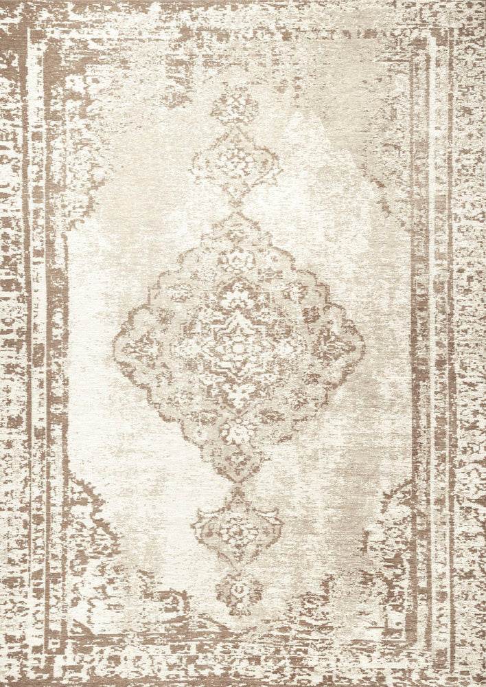 Antlanta Cream Easy Clean Rug