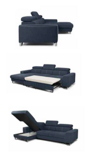 Astio Corner Sofa Bed Like Picture Left Corner