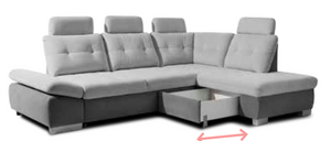 Creona 2 Corner Sofa Bed