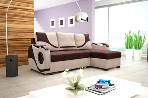 Iliza Corner Sofa Bed
