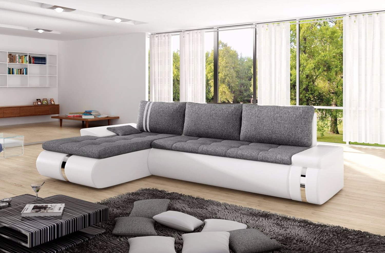 Fadex Mini Corner Sofa Bed