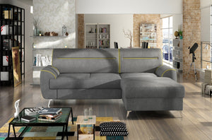 Moona corner sofa bed