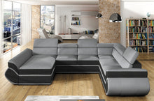 Genas XL Corner Sofa Bed