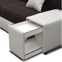 Hugona Corner Sofa Bed