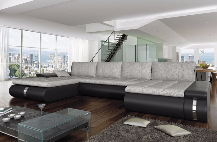 Lux Corner Sofa Bed
