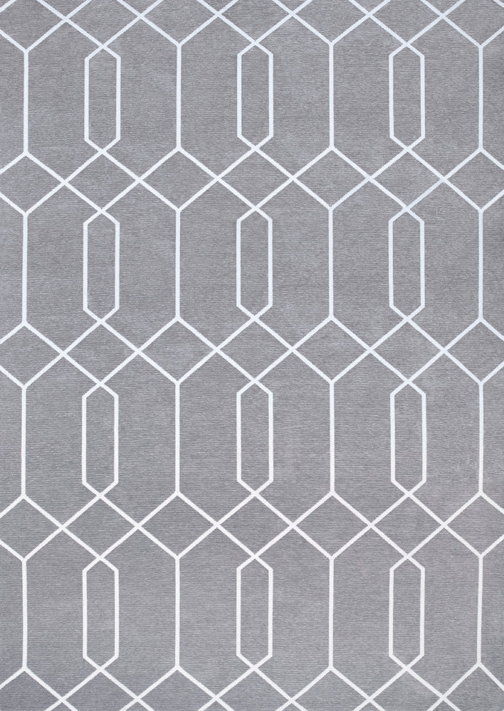 Maro Gray Easy Clean Rug
