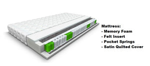 Sim Bed And Mattress