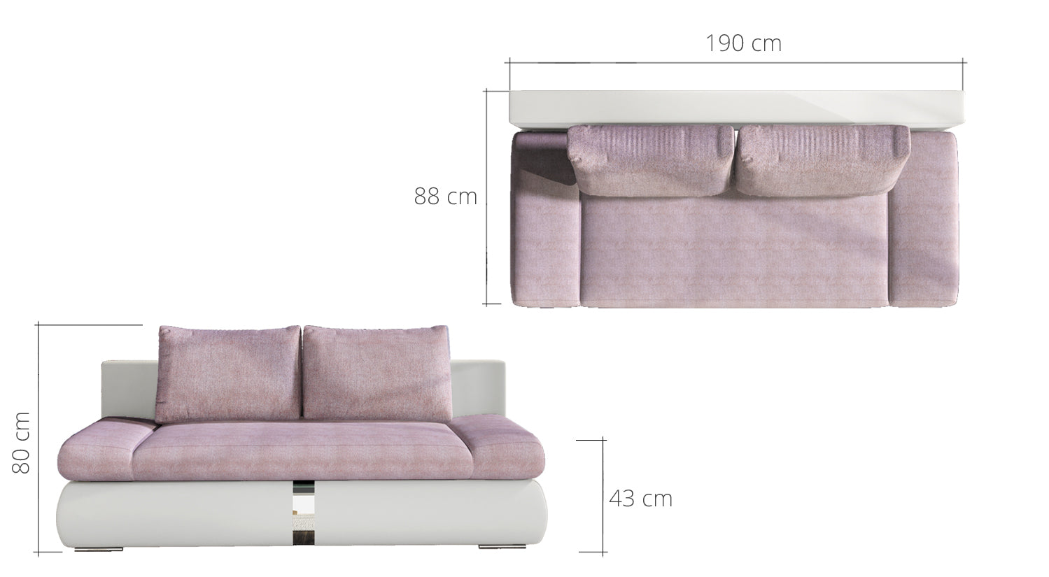 Playa Sofa Bed like picture