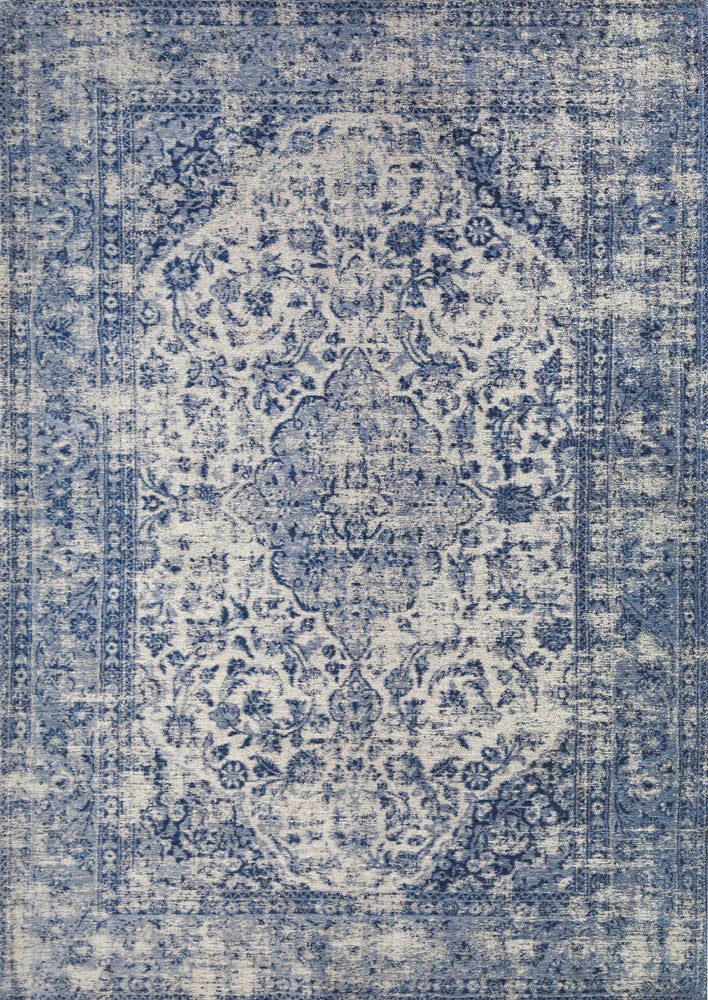 Sedafi Blue Easy Clean Rug