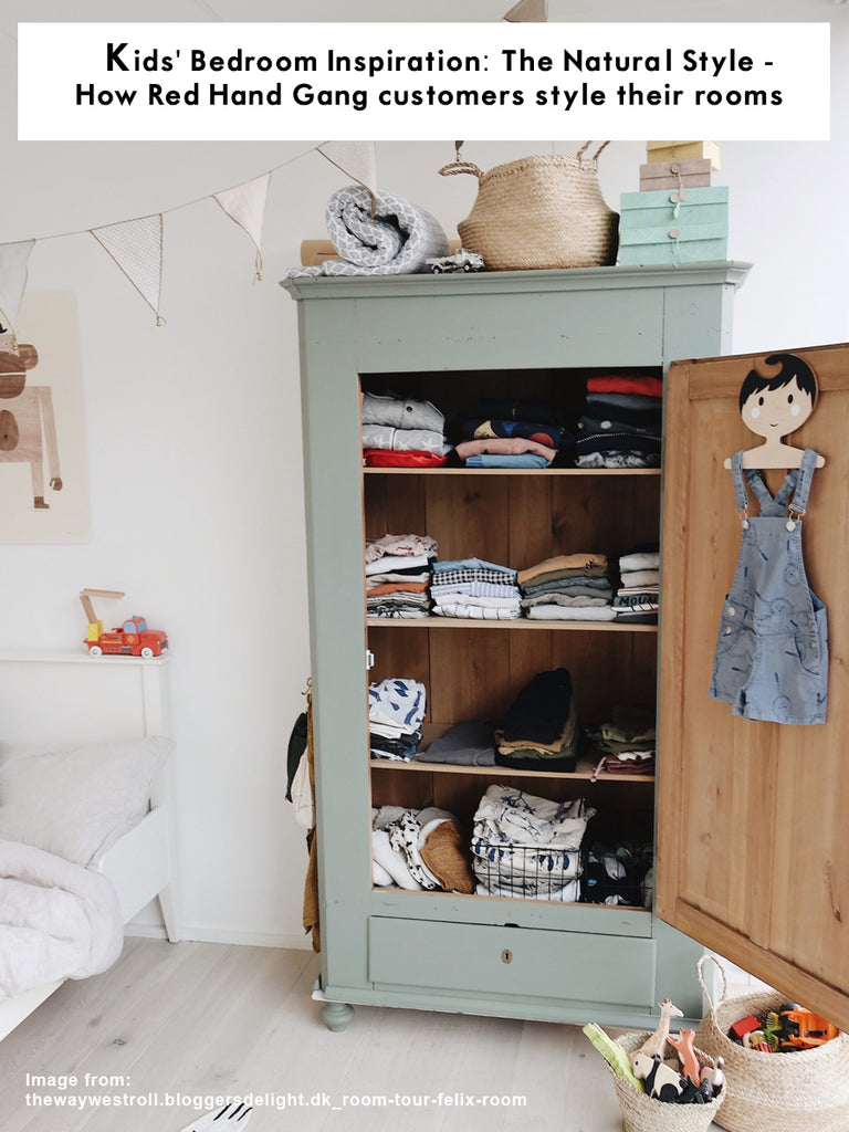 Kids' Bedroom Inspiration - Natural Style : How Red Hand Gang customers style their rooms