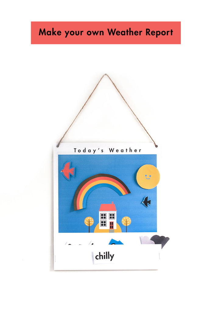 Make your own lovely little Weather Chart