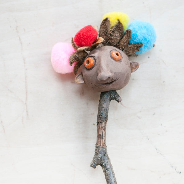 The Clay Heads - Make Your own Clay Creatures on a Stick_Red Hand Gang