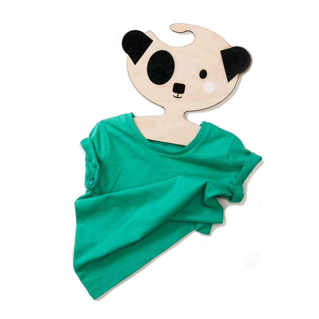 Pablo the Dog  Wooden Clothes Hanger for Kid's rooms