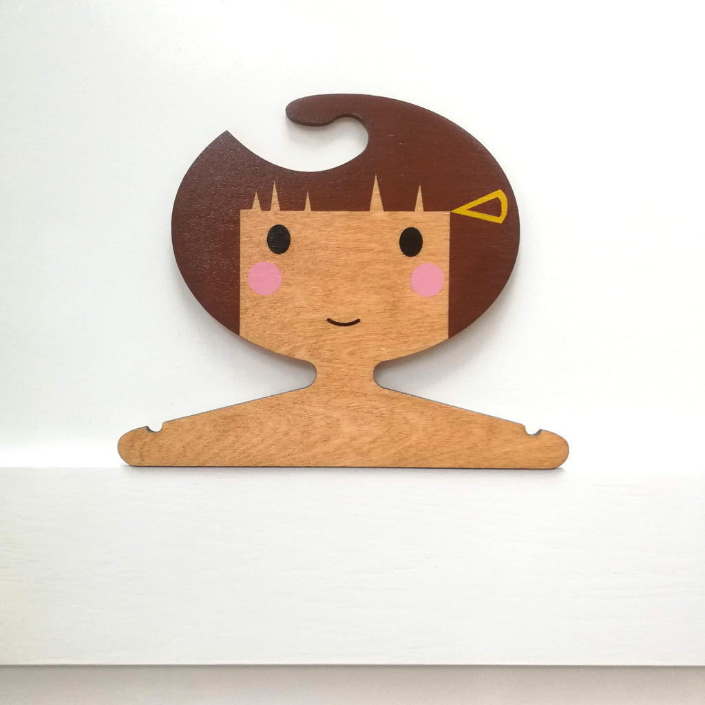 Order a Personalised Children's Wooden Clothes Hanger.