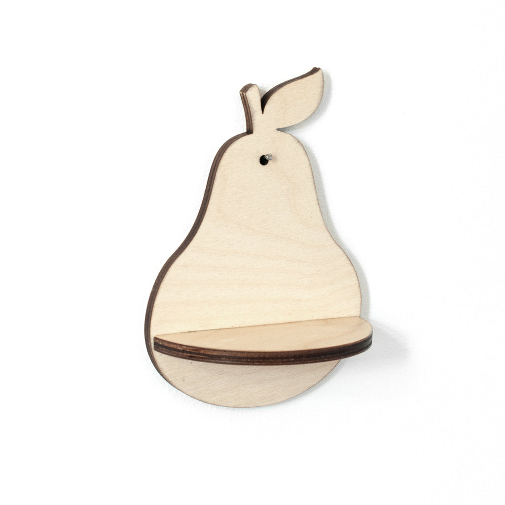 Mini Pear Shelf and Pear Hook Gift Box