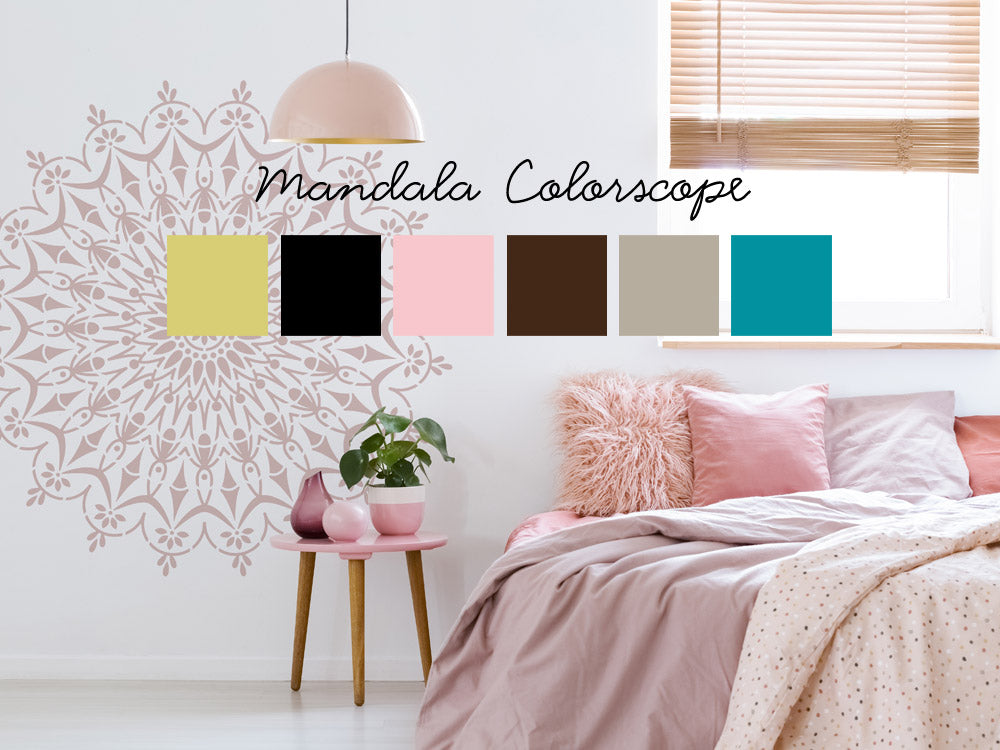 What does does your mandala color say about you? Read your colorscope!