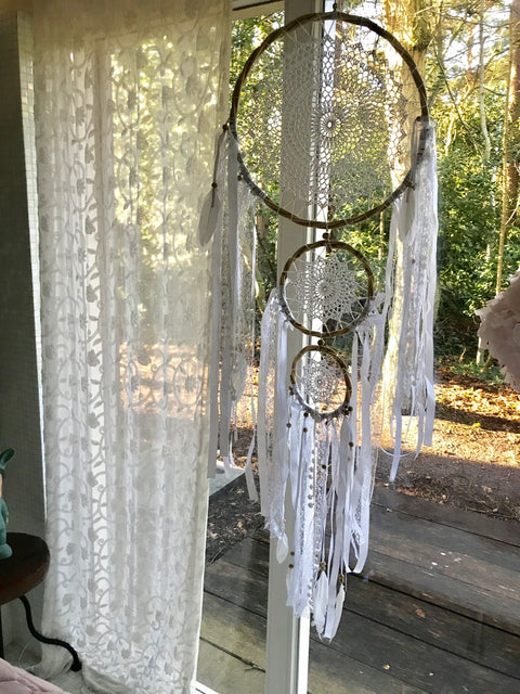 Dream catcher trio The biggest one is 42cm