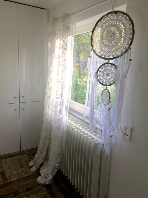 Dream catcher trio 42 centimeter wide is the biggest one