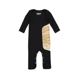 BLACK GOLD ONESIE