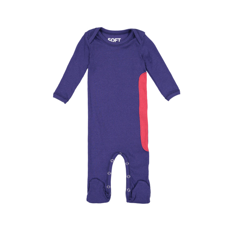RIBBED ASTRAL BLUE ONESIE