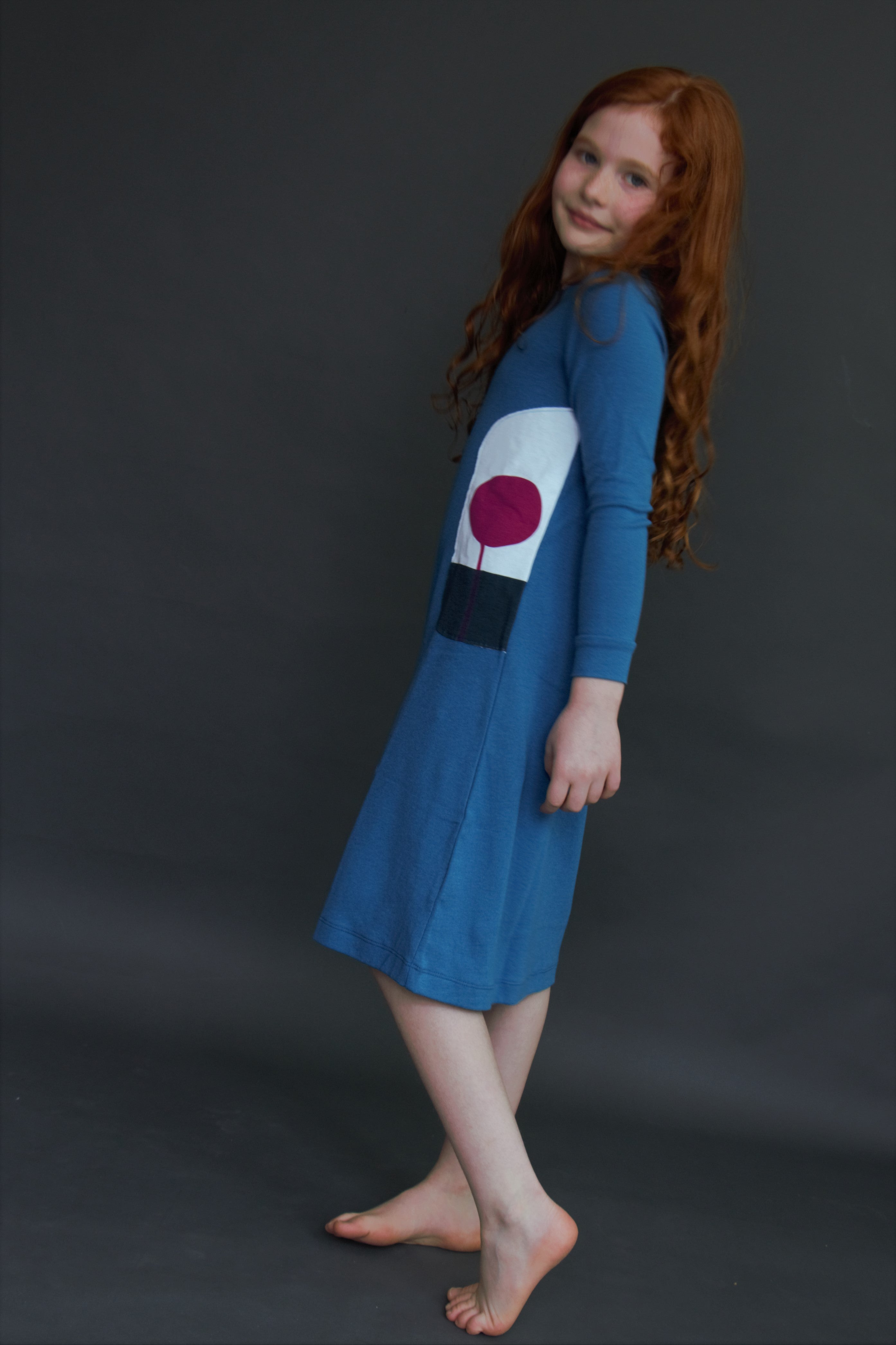 BLUE SAPHIRE NIGHTGOWN