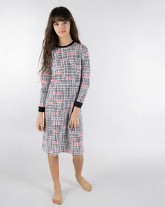 Jack and Becky SOFT Nightgown with Barcode Print