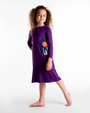 PLUM NIGHTGOWN