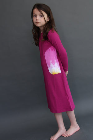 FUCHSIA NIGHTGOWN