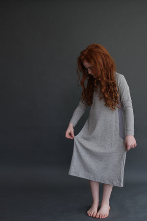 HEATHER GREY NIGHTGOWN