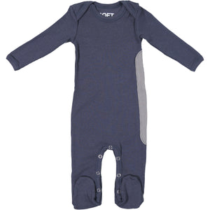 RIBBED STEEL ONESIE