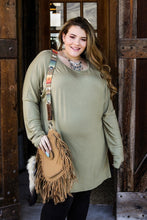 Lucky Sage Tunic Top Curvy