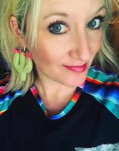 Crazy Cactus Earrings