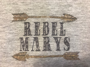 Rebel Marys Original Outlaw Logo Tee