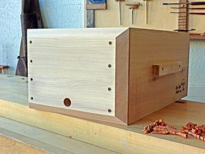 Building Hives with Western Red Cedar