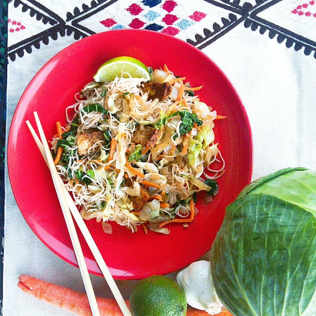 Filipino Pancit with Pork