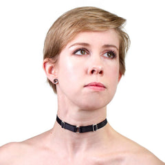 Day Collar in Black Satin from LVX Supply & Co.