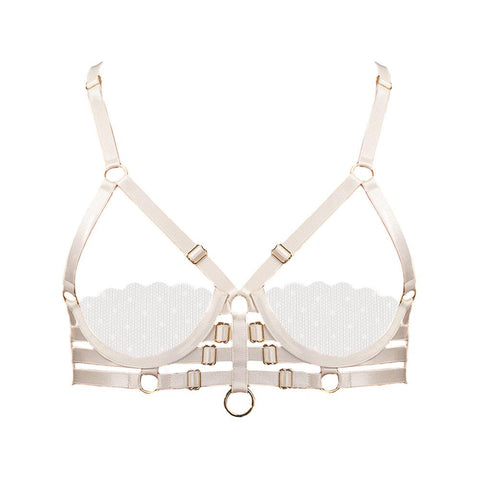 Handmade Luxury Strap Sheer Bra
