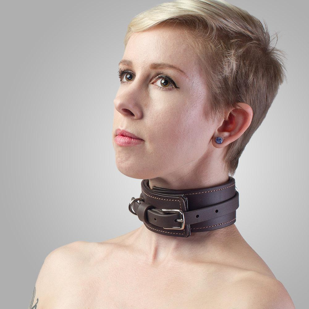 Padded Vegan BDSM Collar | Vegan Bondage by LVX Supply & Co