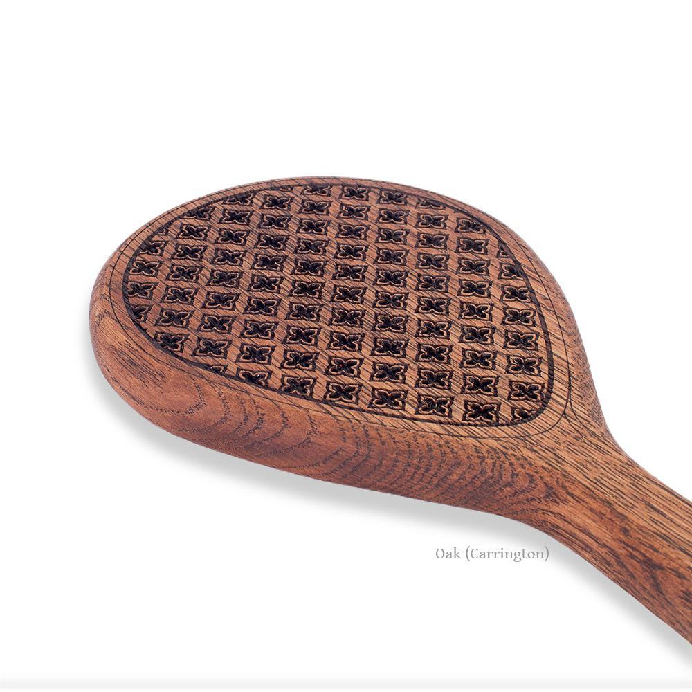 Zebrawood Spanking Paddle | Confessional BDSM Paddle by LVX Supply