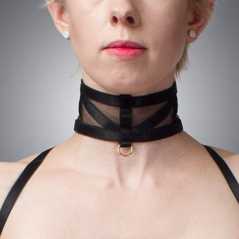 Deco Satin Collar