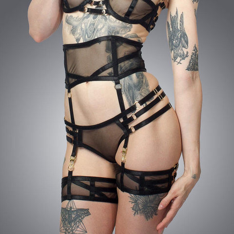Deco Suspender Belt