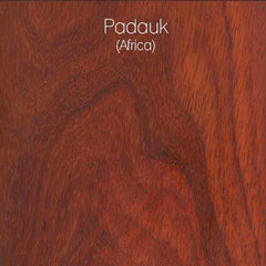 Padauk Wood Swatch from LVX Supply & Co.