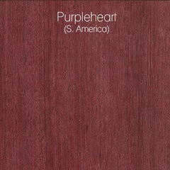 Purpleheart Wood Swatch from LVX Supply & Co.