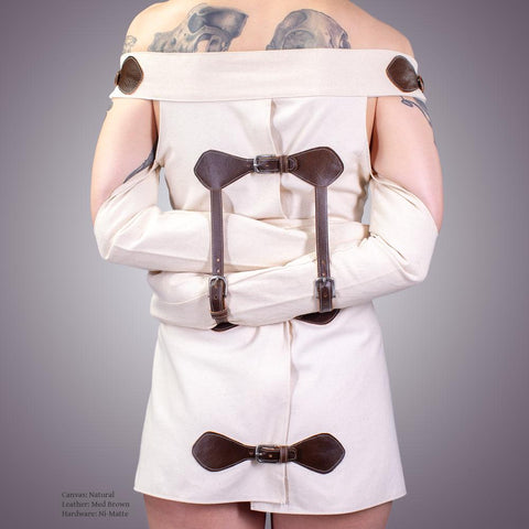 Straight Jacket Bondage Dress