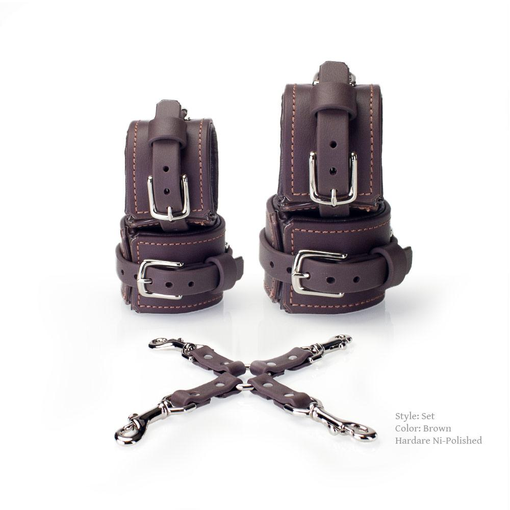Padded Vegan Hog Tie & Cuffs Set